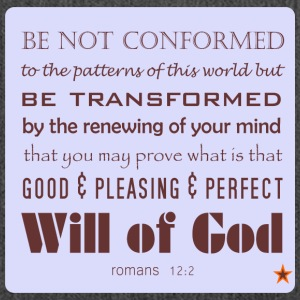 Be not conformed - Schultertasche aus Recycling-Material