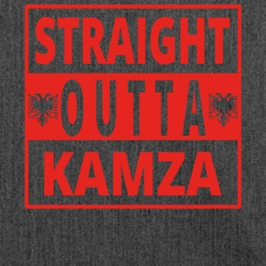Straight outta Kamza Albania - Shoulder Bag made from recycled material