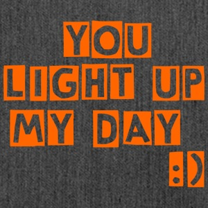 you light up my day - Shoulder Bag made from recycled material