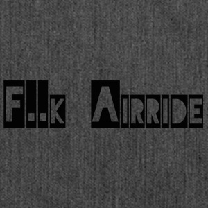 fck Airride - Shoulder Bag made from recycled material