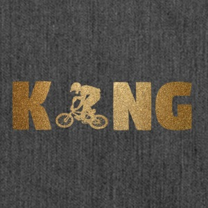 KING BMX! Bikers! Sports! - Shoulder Bag made from recycled material