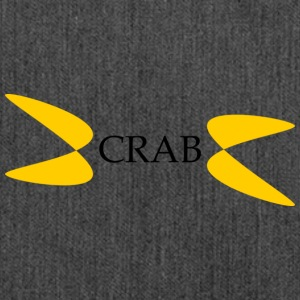 crab - Schultertasche aus Recycling-Material