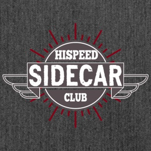 Sidecar HiSpeedClub - Shoulder Bag made from recycled material