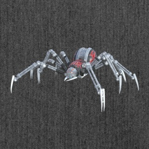 Robot spider - Shoulder Bag made from recycled material
