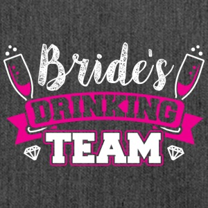 JGA - BRIDE DRINKING TEAM - Schultertasche aus Recycling-Material