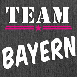 TeamBayern white - Schultertasche aus Recycling-Material