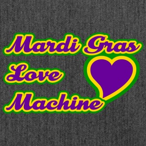 Mardi Gras Love Machine - Schoudertas van gerecycled materiaal