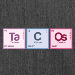 Periodic table elements: Ta C Os - Shoulder Bag made from recycled material