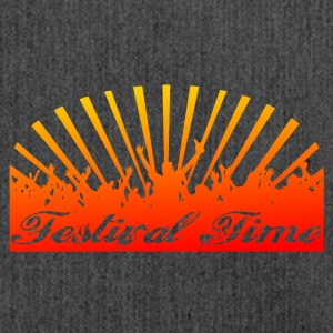 Festival Time Logo - Shoulder Bag made from recycled material
