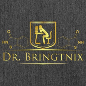 Dr.Bringtnix luxury desk chemistry - Shoulder Bag made from recycled material