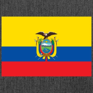 National Flag Of Ecuador - Skuldertaske af recycling-material