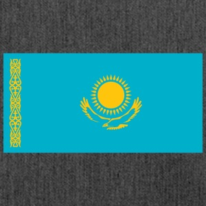 National Flag Of Kazakhstan - Shoulder Bag made from recycled material