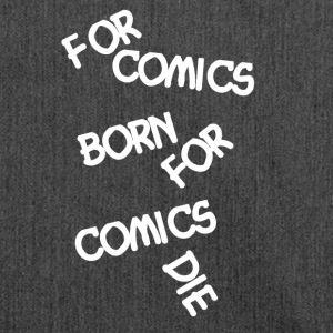 Comic Fan For Comics Born - Schultertasche aus Recycling-Material