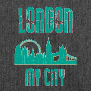 Londra MY CITY - Borsa in materiale riciclato