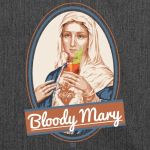 Bloody Mary and drink - Shoulder Bag made from recycled material