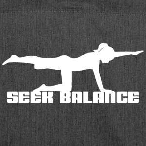 Yoga Seek Balance - Shoulder Bag made from recycled material