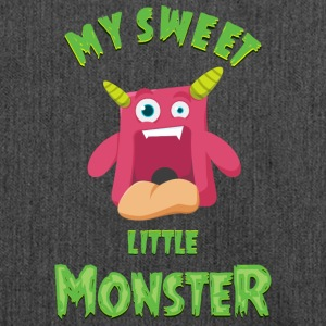 Sweet Little Monster - En søt monster - Skulderveske av resirkulert materiale