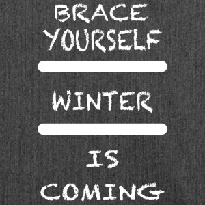 Brace_Yourself_WInter - Skuldertaske af recycling-material