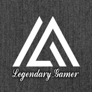 Legendary_Gamer Logo - Shoulder Bag made from recycled material