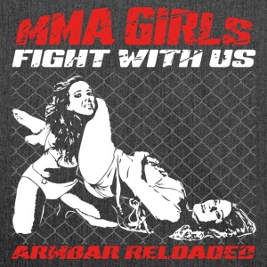 MMA Girls - Fight Wear - Arti marziali - Mix BJJ - Borsa in materiale riciclato