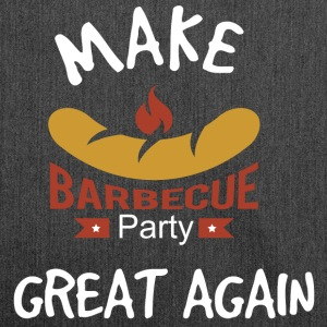 Maak Barbecue Great Again - Schoudertas van gerecycled materiaal