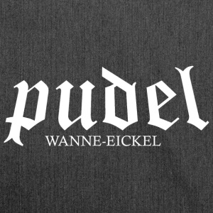 Pudel Wanne-Eickel - Schultertasche aus Recycling-Material