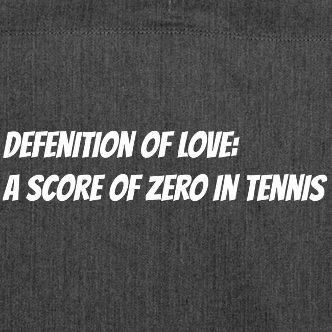 Tennis Love sweater men