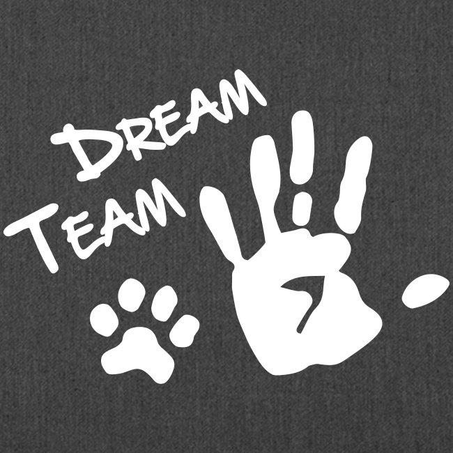 Vorschau: Dream Team Hand Hundpfote - Schultertasche aus Recycling-Material