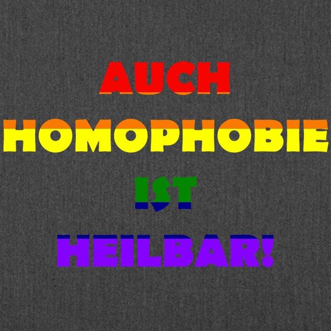 Auch Homophobie ist heilbar!