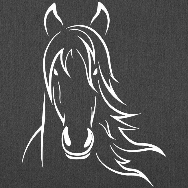 Vorschau: Horse - Schultertasche aus Recycling-Material