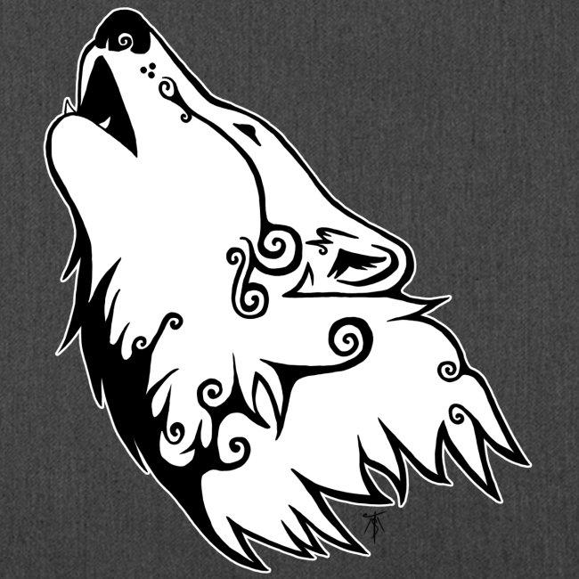 Le Loup de Neved (version contour blanc)