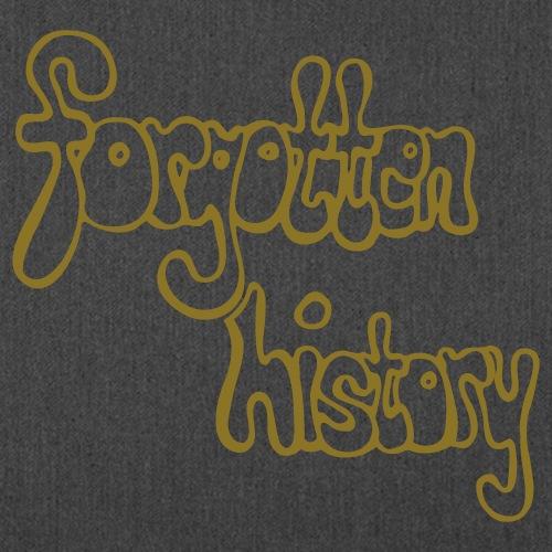forgotten history - Schultertasche aus Recycling-Material