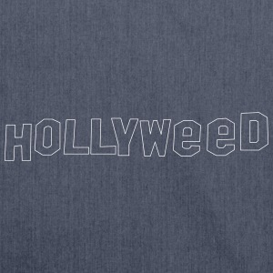 Hollyweed shirt - Skuldertaske af recycling-material