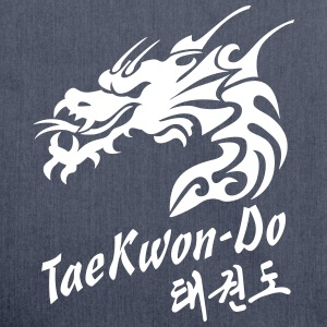 Taekwondo Dragon - Shoulder Bag made from recycled material