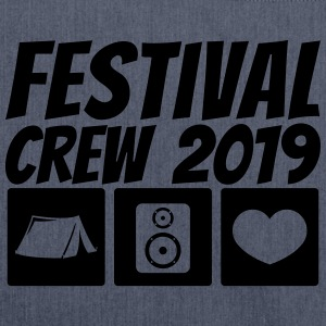 Festival Crew 2019 - Shoulder Bag made from recycled material