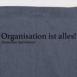 Organisation ist alles! - Schultertasche aus Recycling-Material