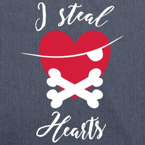 I steal Hearts - Schultertasche aus Recycling-Material