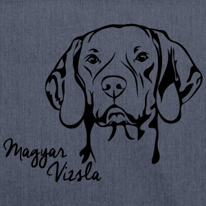 MAGYAR VIZSLA PORTRAIT - Shoulder Bag made from recycled material
