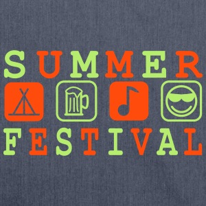 Summer Festival - Shoulder Bag made from recycled material