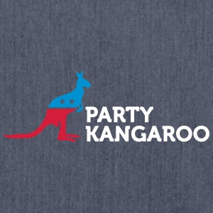 Political Party Animals: Kangaroo - Shoulder Bag made from recycled material