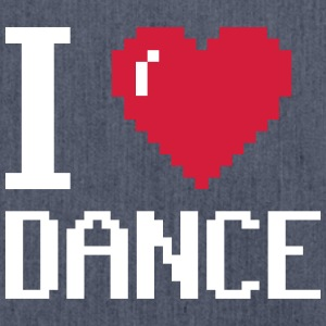 I Love Dance - Borsa in materiale riciclato