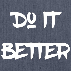 Do it better - Schultertasche aus Recycling-Material