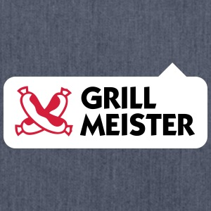 Grillmeister - Schultertasche aus Recycling-Material