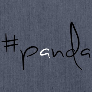 #panda! - Shoulder Bag made from recycled material