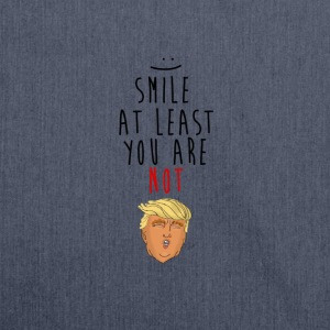Smile, Trump - Shoulder Bag made from recycled material