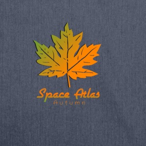 Space Atlas Long Sleeve T-shirt Autumn - Shoulder Bag made from recycled material
