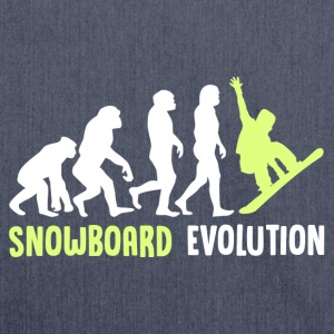 ++ ++ Snowboard Evolution - Borsa in materiale riciclato