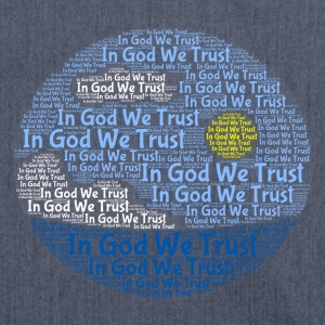 In God We Trust met Tagul Style - Schoudertas van gerecycled materiaal