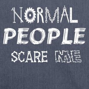 NORMAL PEOPLE SCARE ME - Shoulder Bag made from recycled material