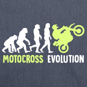 ++ ++ Motocross Evolution - Schoudertas van gerecycled materiaal